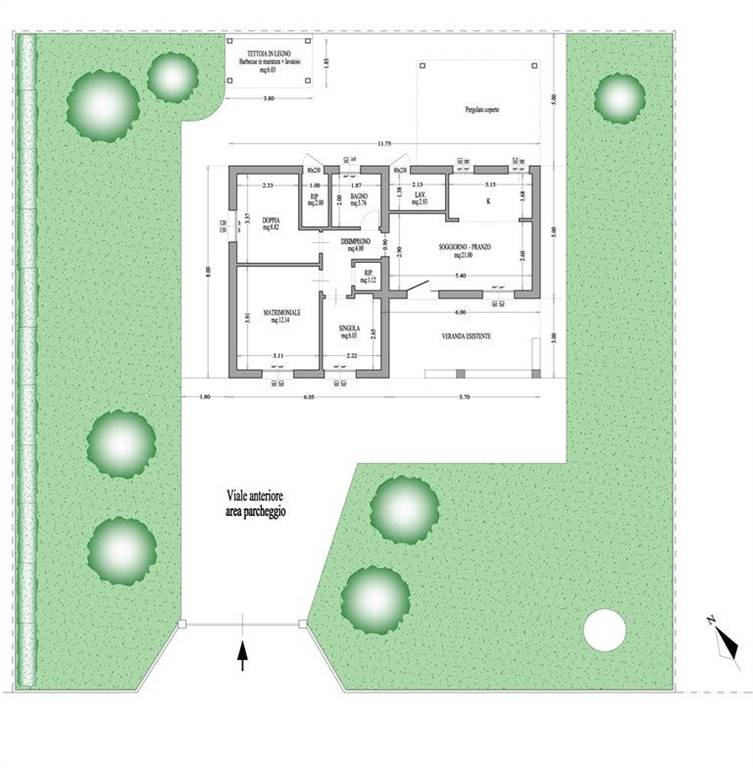 plan house for sale arenella
